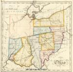 John Melish Map, Ohio Historical Society