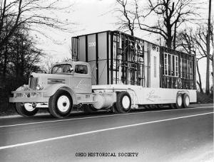Lustron House Delivery Truck