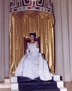 Jackie Mayer of Sandusky, Ohio, who won the Miss America Pageant in 1962 and served as Miss America 1963.