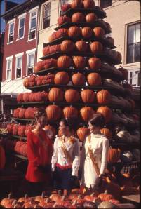 Queen of the Pumpkin Show in Circleville, Ohio.