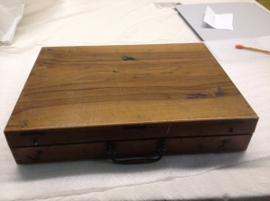 Artist's box used later in his career by George Bellows.