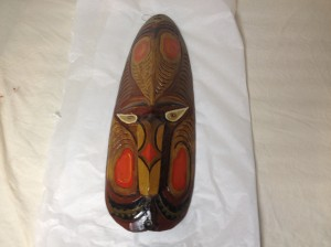 Tiki God Mask from the Kahiki Supper Club recently acquired by the Ohio Historical Society.