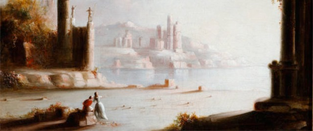 Ruins of Carthage by Robert Duncanson.