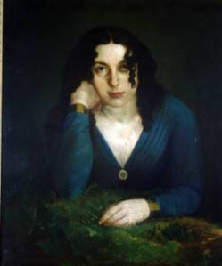 Self portrait of Lilly Martin Spencer.