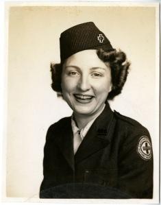 Birdie Schmidt Larrick, 1944.