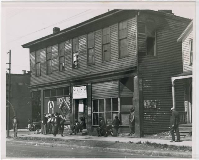 Scene o.n ... , Cleveland, Ohio