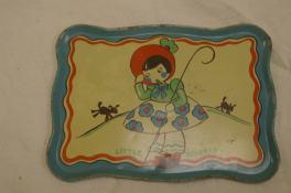 Little Bo Peep Tea Tray by Peat, 1930-1939