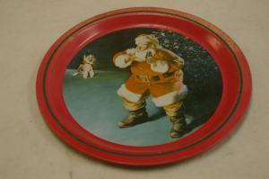 Coca-Cola Santa Claus Tray, 1988.