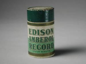 Edison Amberol Record