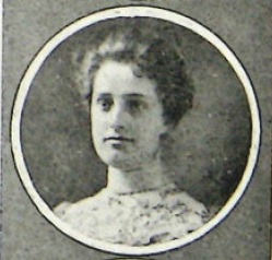 Lucy Allen (1901) from MAKIO, the yearbook of the Ohio State University.