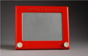 Etch A Sketch made by the Ohio Art Company.