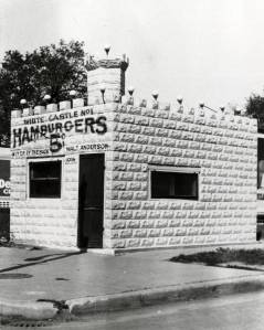 Exterior view of Wichita number 1, the first White Castle restaurant opened in Wichita, Kansas