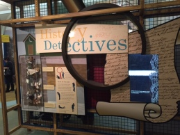 "The New York Historical Society invites visitors to become ""History Detectives""."
