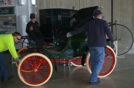 Winton Automobile being Moved